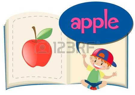 Apple with word apple clipart picture freeuse stock 1,675 Word Apple Stock Vector Illustration And Royalty Free Word ... picture freeuse stock