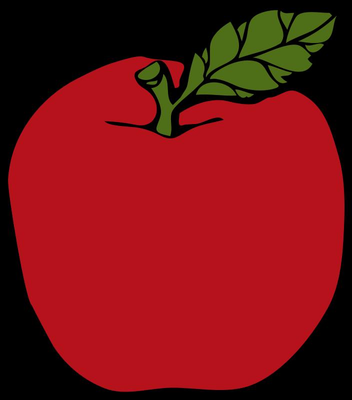 Apple word clipart clip art freeuse Chalk apple clipart clip art freeuse
