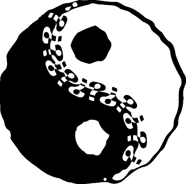 Apple yin yang clipart vector freeuse download Jin-jang Yin-yang Clip Art at Clker.com - vector clip art online ... vector freeuse download