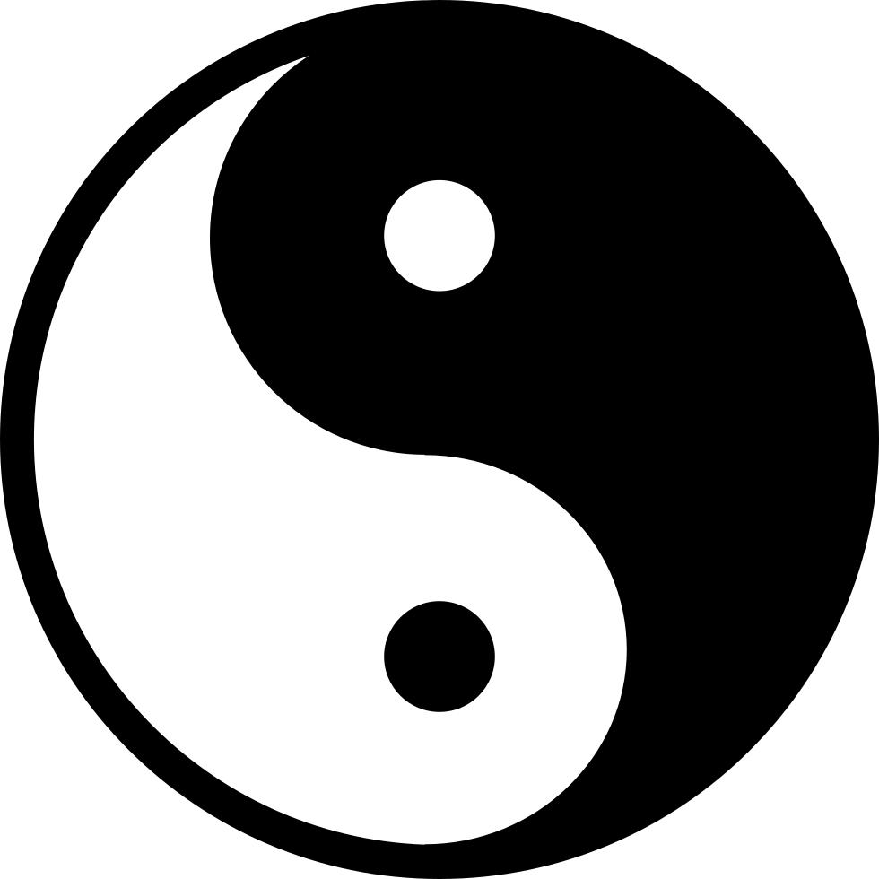 Apple yin yang clipart png Yin and yang Symbol Clip art - Hanuman 980*980 transprent Png Free ... png