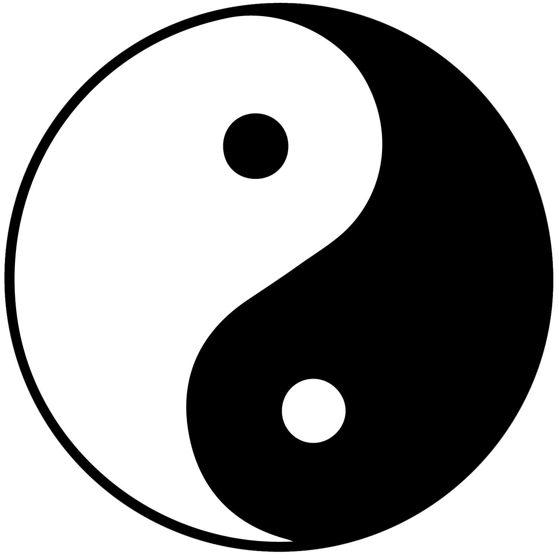 Apple yin yang clipart banner transparent stock Yin and yang Symbol Taoism Taiji Clip art - yin yang 1500*1500 ... banner transparent stock