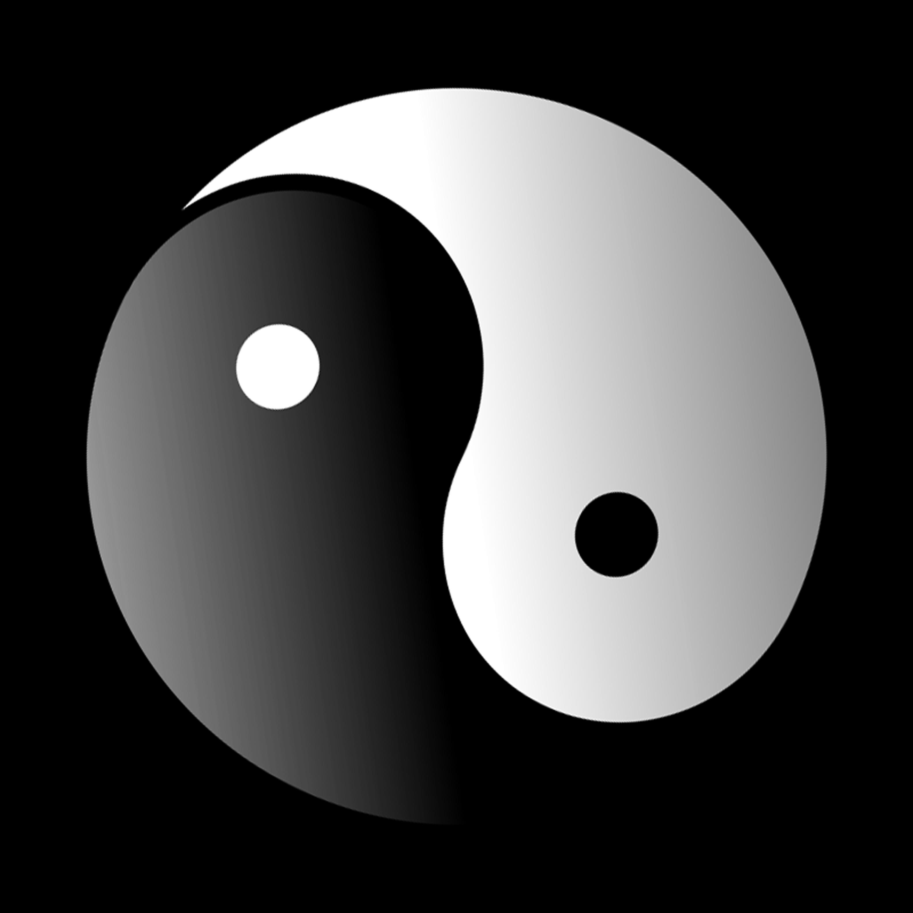 Apple yin yang clipart image royalty free library Yin and yang Symbol Clip art - yin yang 3166*3166 transprent Png ... image royalty free library