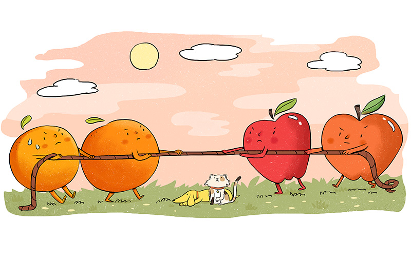 Apples and oranges love clipart graphic transparent download Apples and oranges   Animal Sheltering Online by The Humane Society ... graphic transparent download