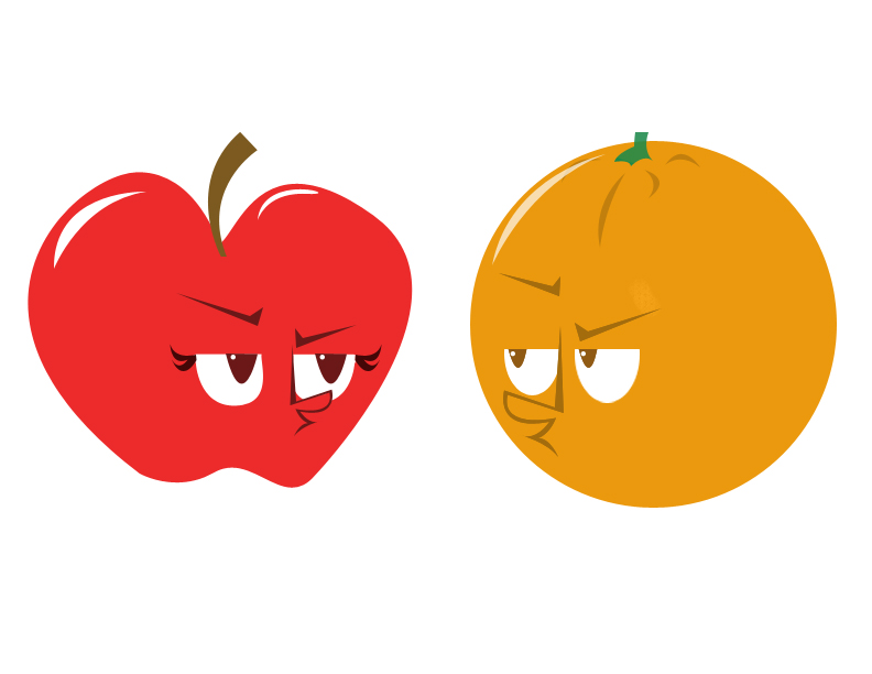 Apples and oranges love clipart clip art stock Comparing Apples to Oranges & Dolphins to Sharks?   John Harold Moore clip art stock