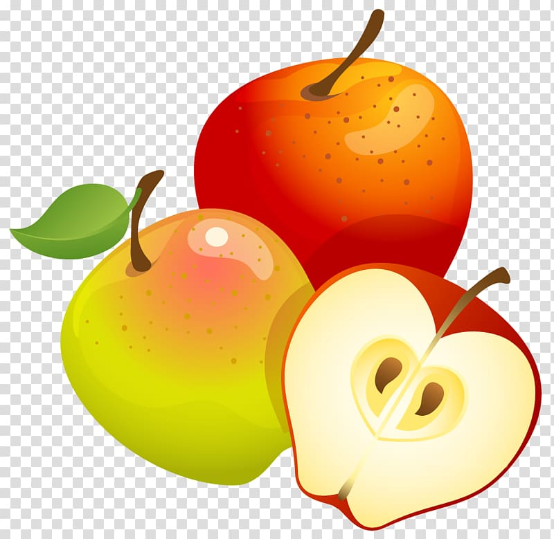 Apples apples clipart clip art freeuse download Apples , Fruit tree Euclidean , Large Painted Apples transparent ... clip art freeuse download
