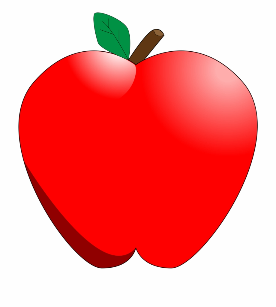 Teacher apple clipart clear background graphic transparent Red Apple Clipart No Background - Apple Clipart Transparent ... graphic transparent