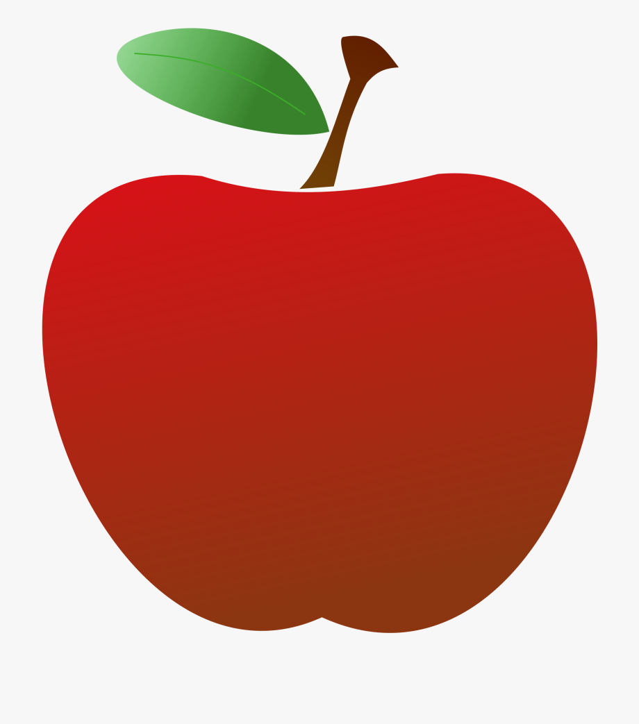 Apples clipart transparent svg royalty free Teacher Apple Clipart - Transparent Background Apple Png #7680 ... svg royalty free