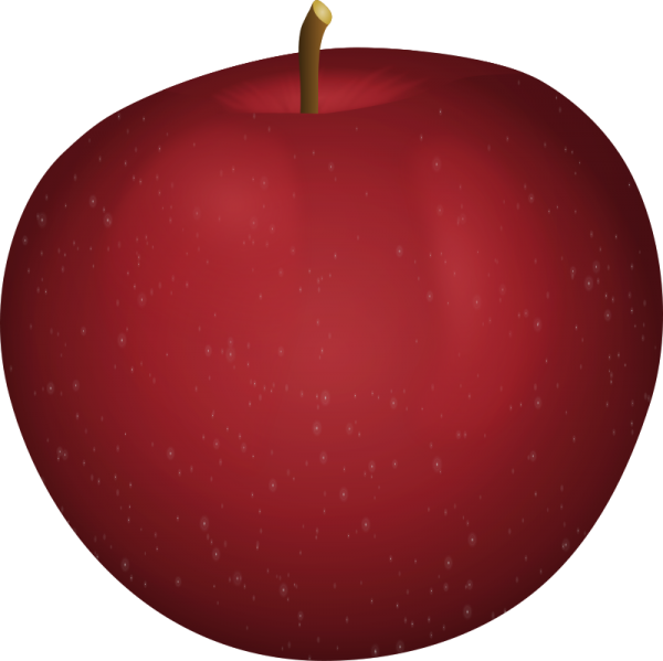 Apples in plate clipart image royalty free download Free clip art \