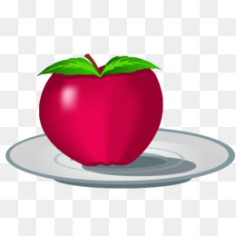 Apples in plate clipart clip library stock Free download Apple Cartoon png. clip library stock