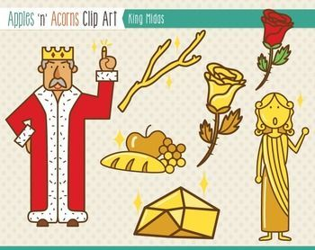 Apples n acorns clipart image black and white stock King midas clipart 1 » Clipart Portal image black and white stock