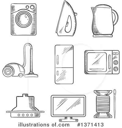Appliance images clipart graphic download Appliance Clipart #1371413 - Illustration by Vector Tradition SM graphic download