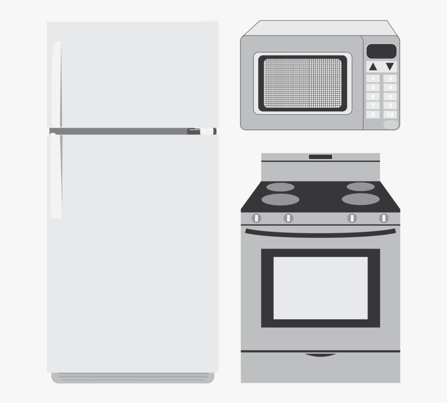 Appliance images clipart jpg free library Clipart Kitchen Appliances - Kitchen Appliances Clip Art #116376 ... jpg free library