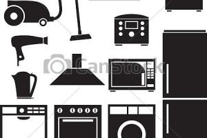 Appliance images clipart black and white library Appliance clipart 4 » Clipart Portal black and white library