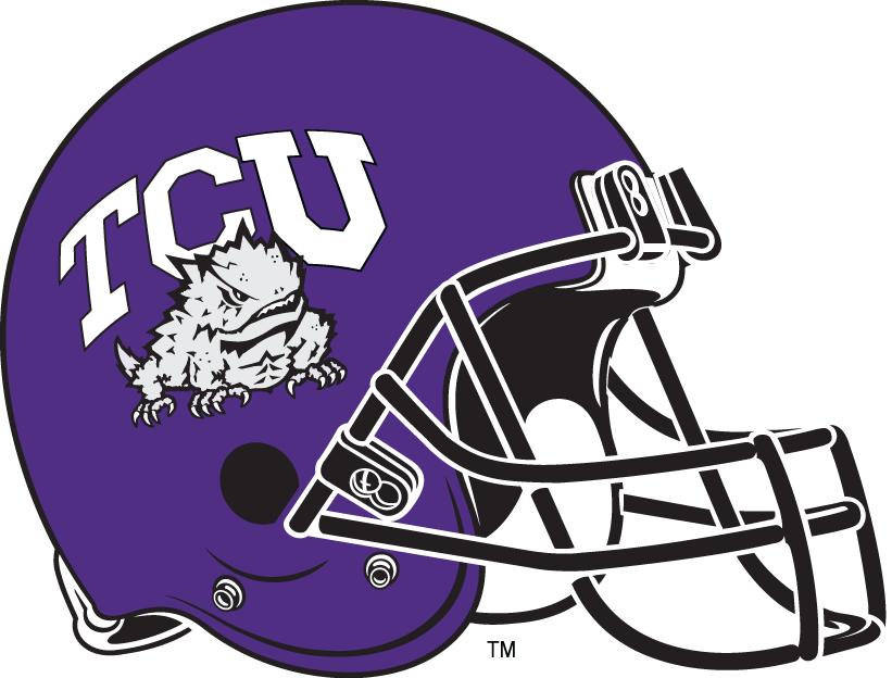Texas longhorns ncaa football white helmet logo clipart vector royalty free download TCU Horned Frogs Logo Clipart | TCU | College football helmets ... vector royalty free download