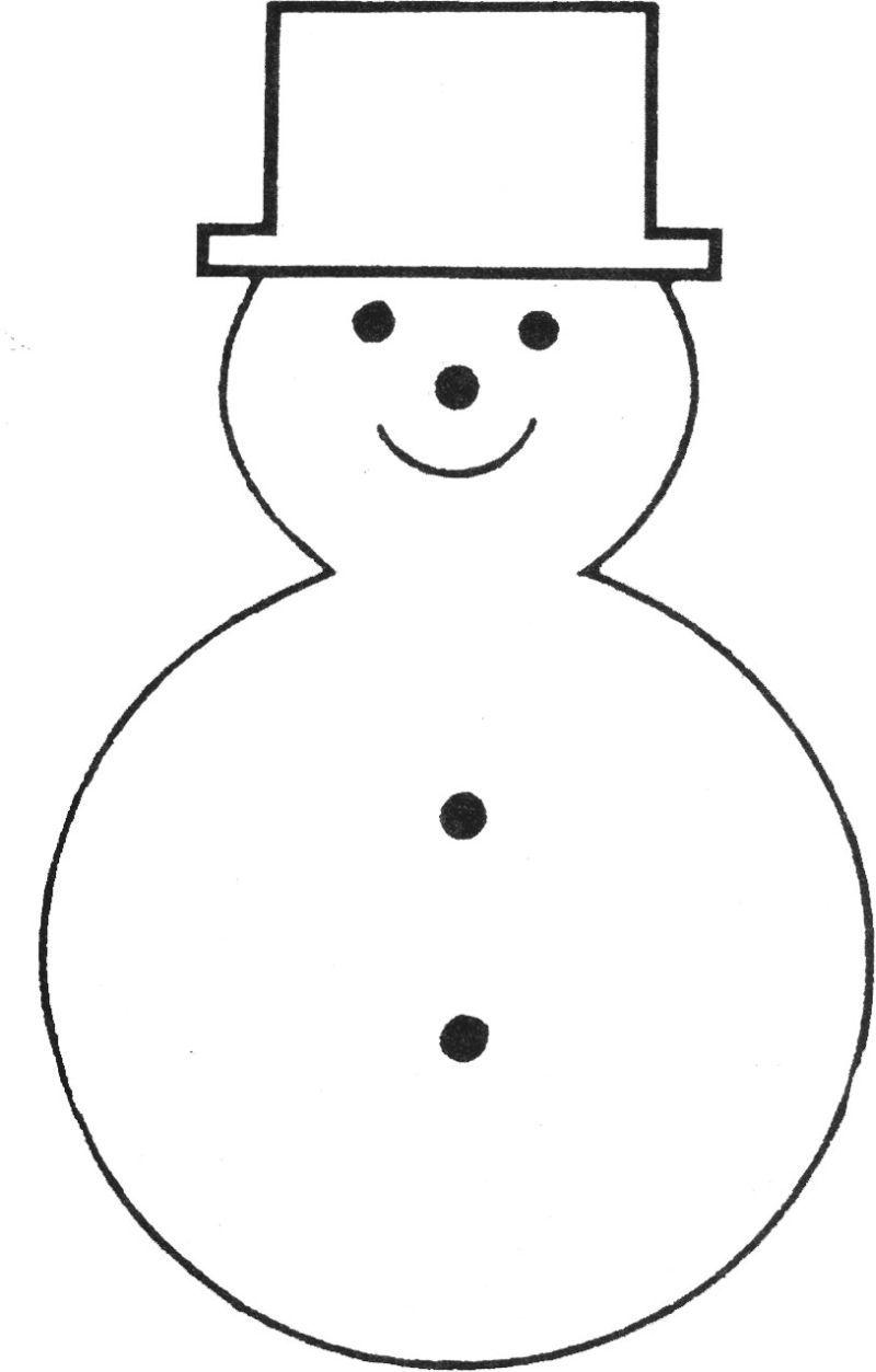 Applique snowman clipart for a white shirt clip royalty free free printable snowman template   Teaching Ideas   Felt christmas ... clip royalty free