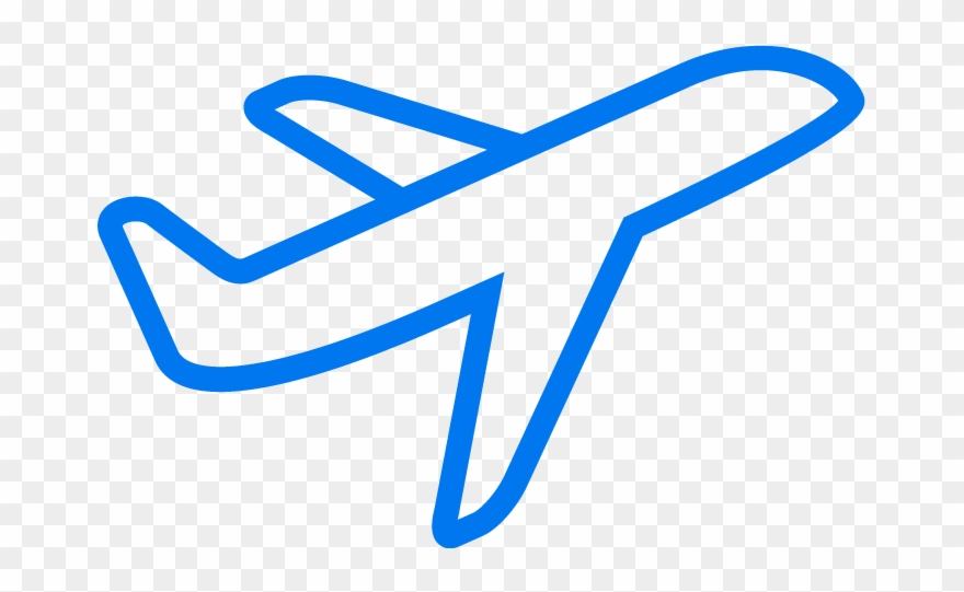 Traving stamp clipart air plance png black and white download Travel Request Approval - Transparent Background Airplane Icon ... png black and white download