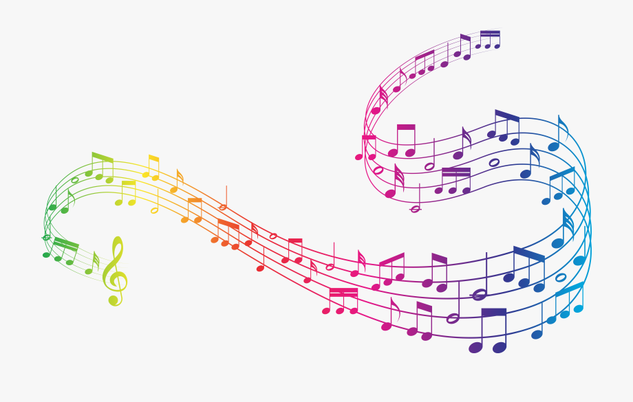 Colorful music notes clipart no background graphic freeuse stock Colorful Music Clipart - Transparent Background Music Notes Png ... graphic freeuse stock