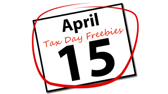 April 15th clipart svg royalty free library April 15 Tax Day Freebies Clipart svg royalty free library