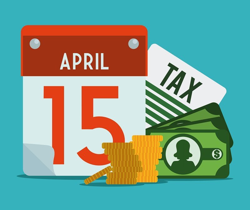 April 15th clipart png black and white stock April 15 Tax Day Illustration png black and white stock