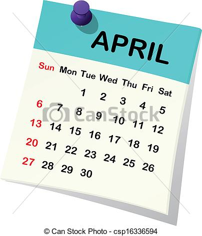 April 2014 calendar clipart image library April 2014 calendar clipart - ClipartFest image library