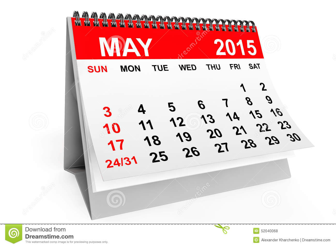 April 2015 calendar clipart. Clipartfest may