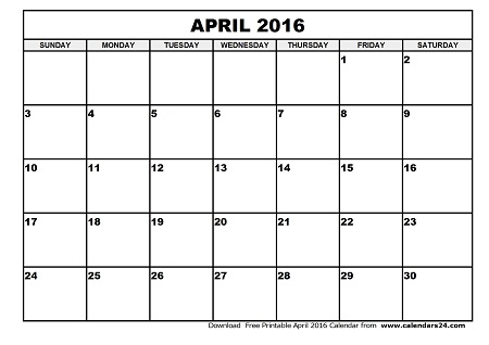 April 2016 calendar clipart clipart royalty free download April 2016 Calendar Easter | free calendar 2017 clipart royalty free download