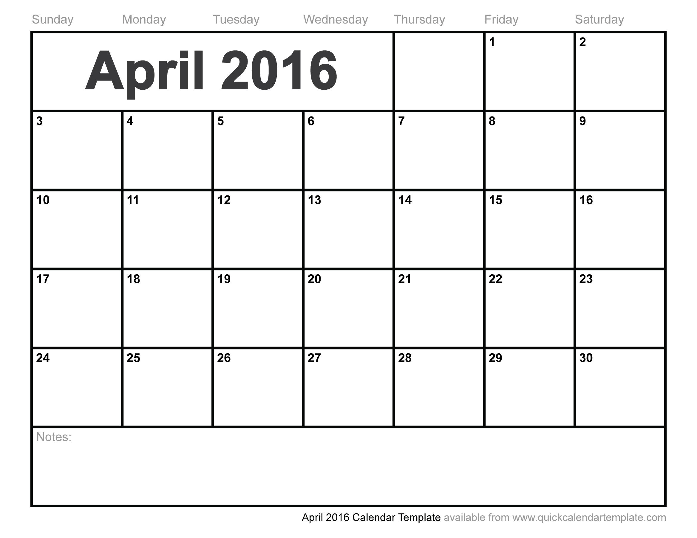April 2016 clipart calendar picture stock April 2016 calendar with clipart - ClipartFest picture stock