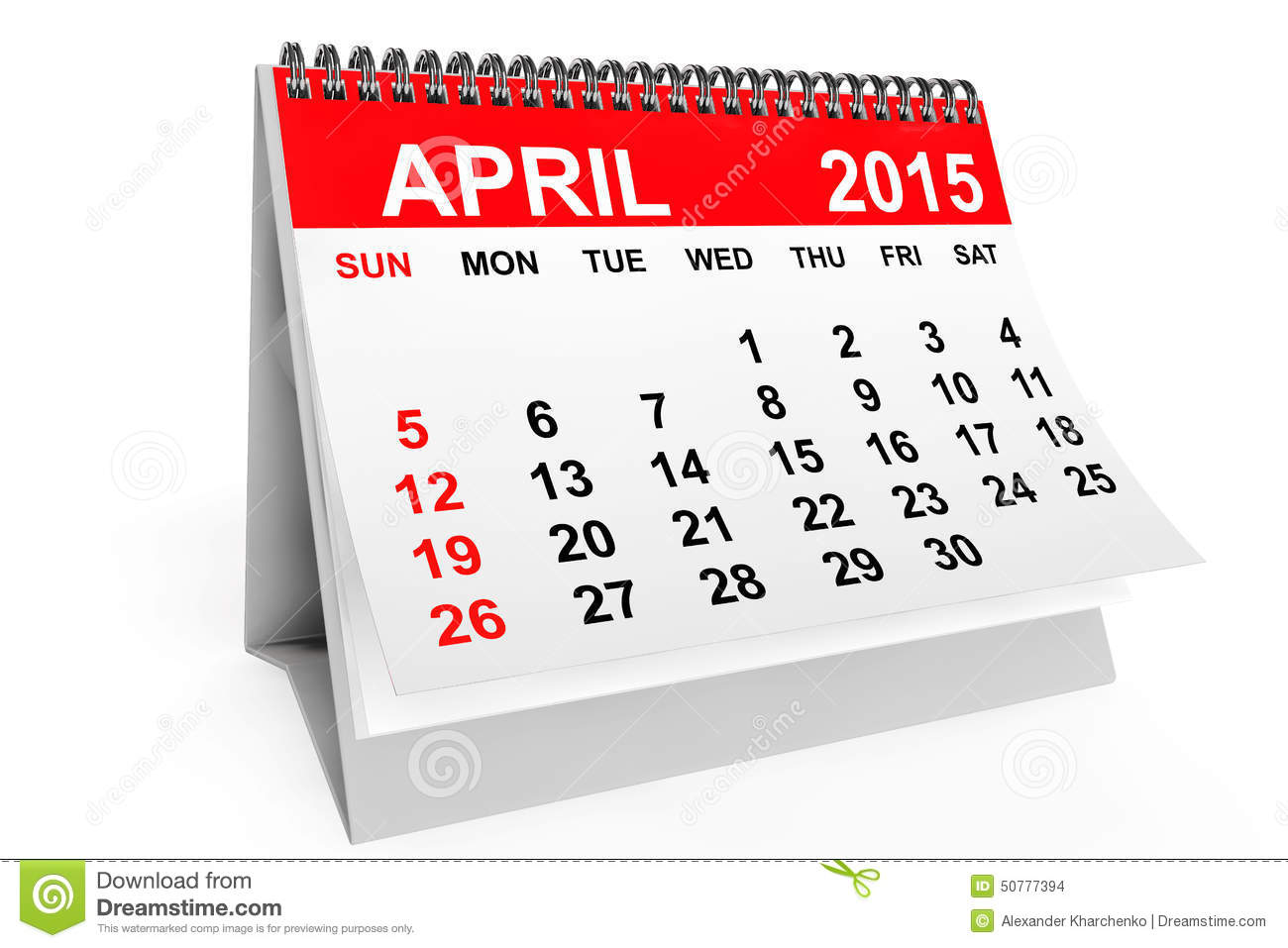 April 28th calendar clipart freeuse stock April 2015 calendar clipart - ClipartFest freeuse stock