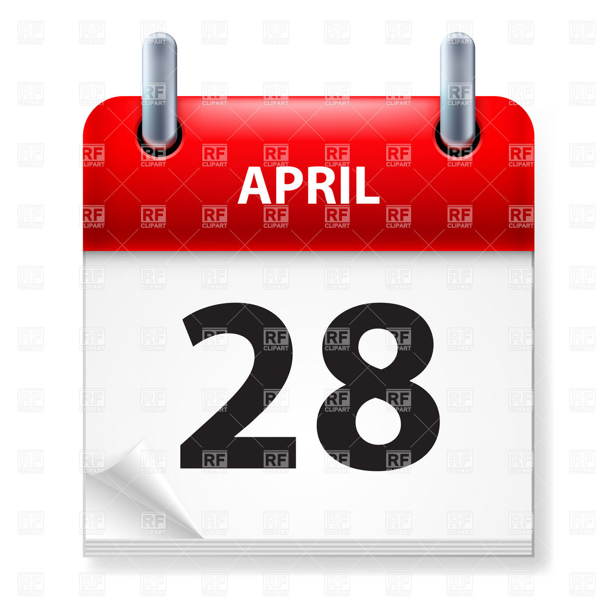 April 28th calendar clipart clipart freeuse stock April 28th calendar clipart - ClipartFest clipart freeuse stock