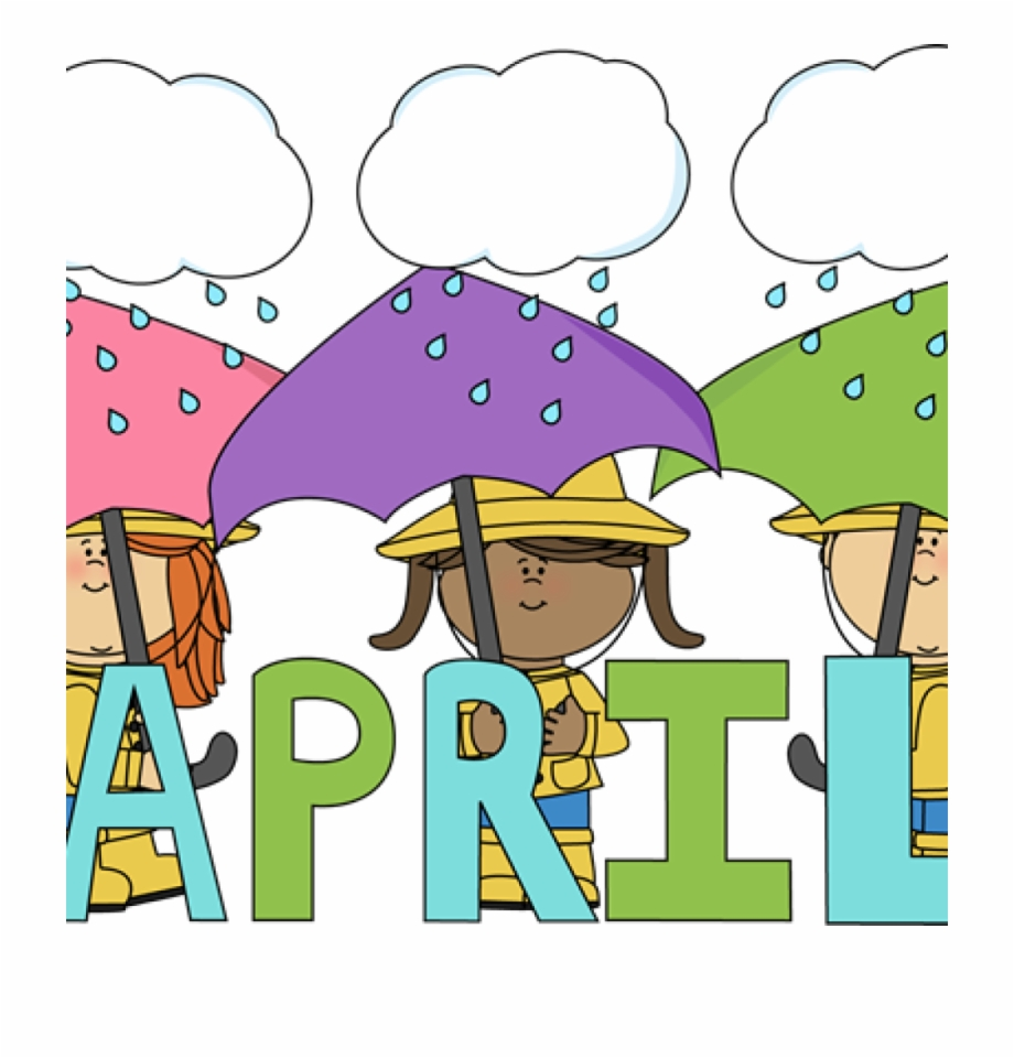 April birthday free clipart