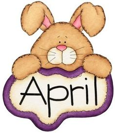 April calendar clip art png freeuse library Free Month Clip Art | Rainy Month of April Clip Art Image - the ... png freeuse library