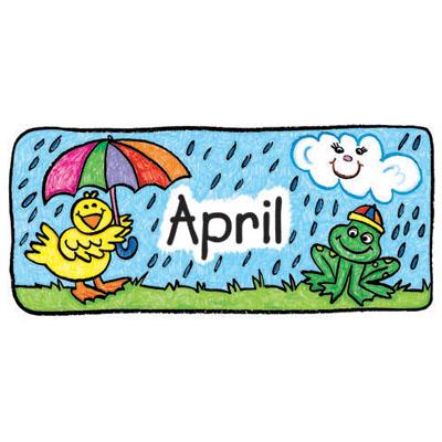 April calendar clip art jpg royalty free library April calendar clip art - ClipartFest jpg royalty free library