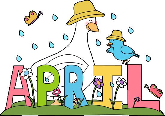 April calendar clip art svg download Free Month Clip Art | Rainy Month of April Clip Art Image - the ... svg download