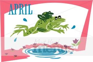April calendar clipart clip free April Calendar Clipart   Calendar Menu Graphics clip free