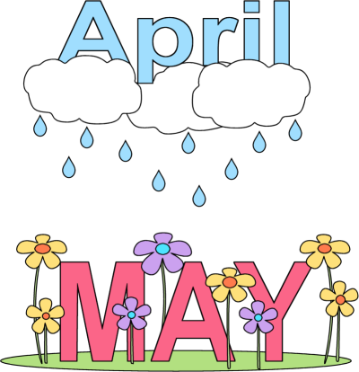April calendar clipart clipart royalty free download April showers calendar clipart - ClipartFest clipart royalty free download