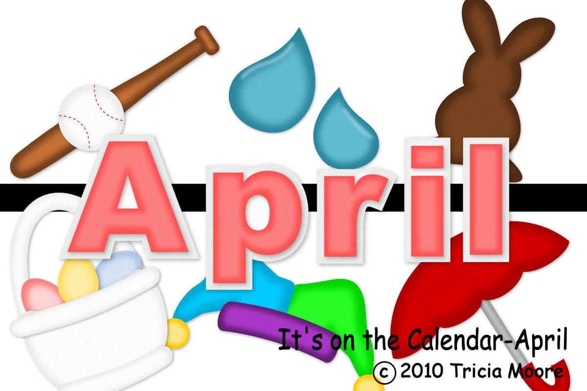 April calendar clipart picture transparent stock April Calendar Clipart - Clipart Kid picture transparent stock