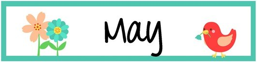 April calendar headings clipart svg black and white stock Month of May Clip Art – Clipart Free Download svg black and white stock