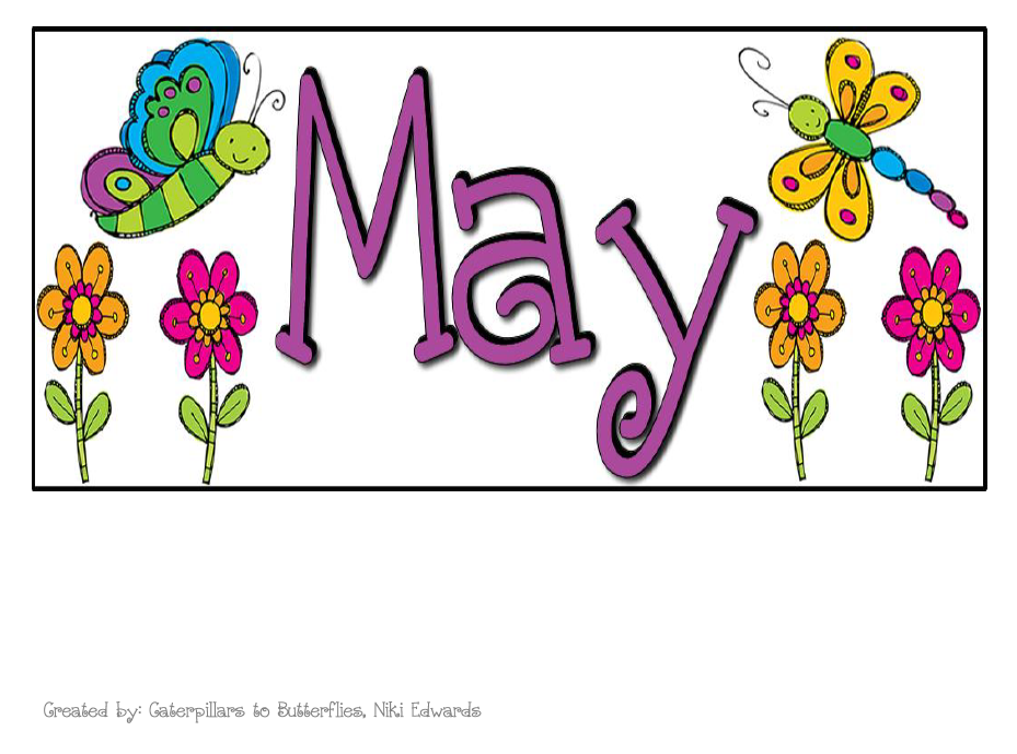 April calendar headings clipart png freeuse May calendar title clipart - ClipartFest png freeuse