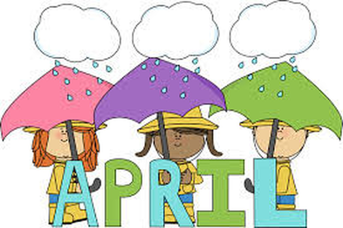 April calendar headings clipart image library stock Copley Junior School - Monthly News image library stock