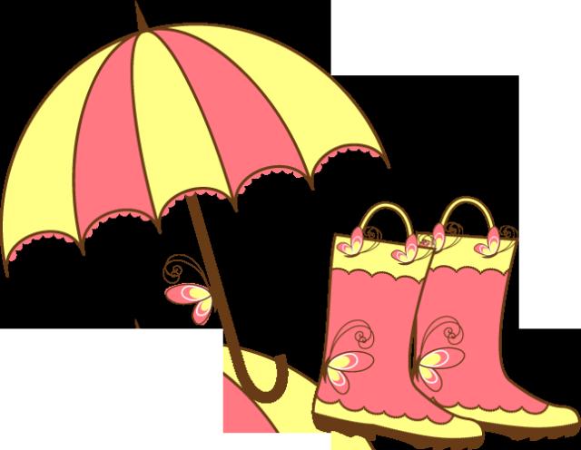 Free clipartfest umbrella clipart. April clip art