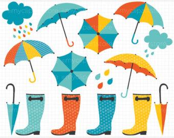 April clip art. Showers clipart kid best