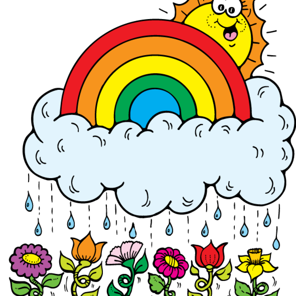 Vector and inspiration clipart. April showers clip art free
