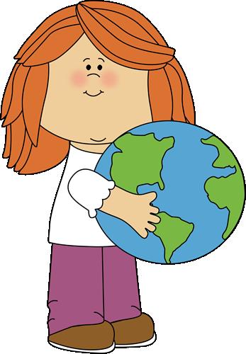 April clip art teachers. Earth day images girl