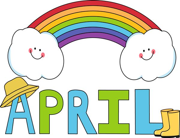 April clip art teachers. Clipartfest free month of