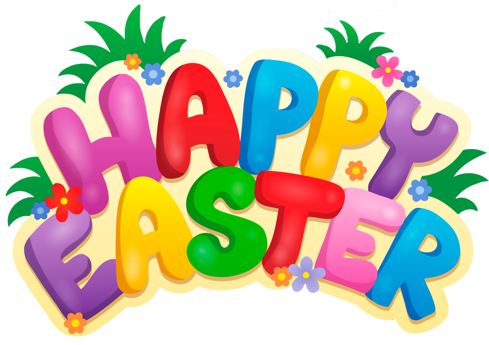 Easter. Clipart for april