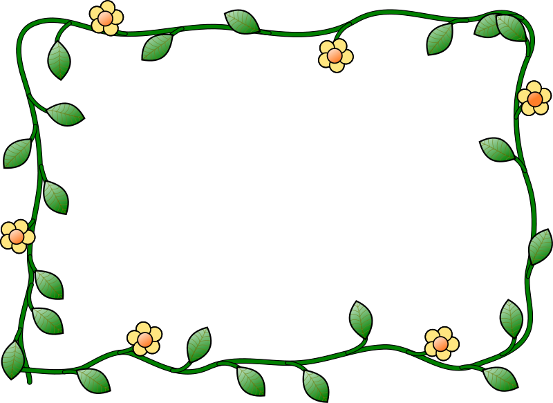 April clipart borders banner freeuse library Free clip art