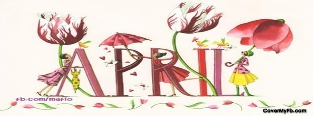 April clipart facebook covers banner royalty free download April Cover Photos For Facebook, April Timeline Covers, April ... banner royalty free download
