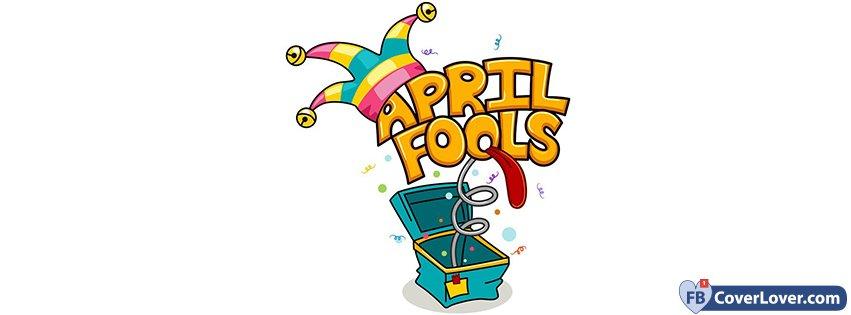 April clipart facebook covers jpg free library April Fool\'s Day Joker Box seasonal Facebook Cover jpg free library