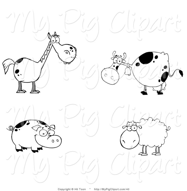 April clipart free black and white sheep vector free stock 17 Best images about Clip Art on Pinterest | Black and white bee ... vector free stock