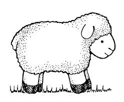 April clipart free black and white sheep picture royalty free Lamb, Black and white and Search on Pinterest picture royalty free